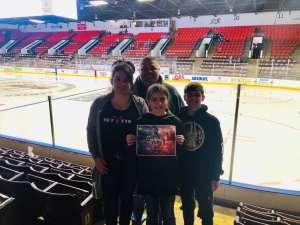 Ryan attended Kalamazoo Wings vs. Wheeling Nailers - ECHL on Mar 6th 2020 via VetTix