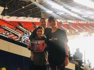 Ryan  attended Kalamazoo Wings vs. Toledo Walleye - ECHL on Mar 8th 2020 via VetTix