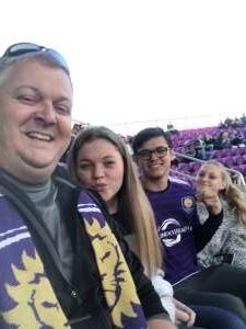 TJ attended Orlando City SC vs. Real Salt Lake - MLS *** Post-game Concert Ft. Ally Brooke *** on Feb 29th 2020 via VetTix