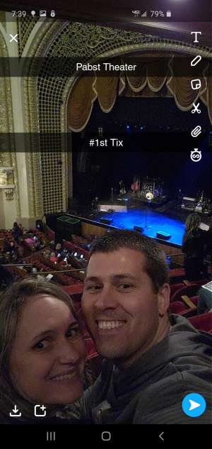 Jamie attended Josh Turner on Mar 12th 2020 via VetTix