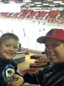 Jimmy attended Kalamazoo Wings vs. Indy Fuel - ECHL on Mar 11th 2020 via VetTix