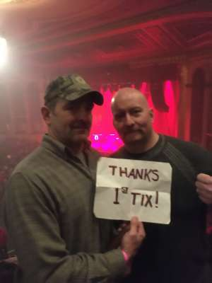 Terry attended Sturgill Simpson With Tyler Childers on Mar 1st 2020 via VetTix
