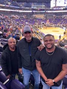 Sharrod Kincade attended Phoenix Suns vs. Golden State Warriors - NBA on Feb 29th 2020 via VetTix
