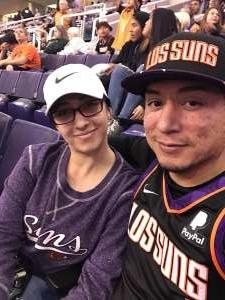 Chris  attended Phoenix Suns vs. Detroit Pistons - NBA on Feb 28th 2020 via VetTix