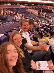Jayson attended Phoenix Suns vs. Detroit Pistons - NBA on Feb 28th 2020 via VetTix