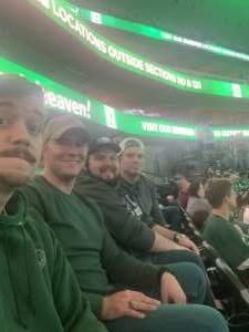 Josh attended Dallas Stars vs. Edmonton Oilers on Mar 3rd 2020 via VetTix