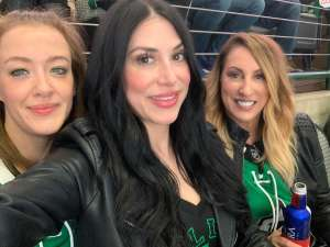 Sarah attended Dallas Stars vs. Edmonton Oilers on Mar 3rd 2020 via VetTix