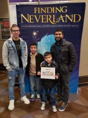 Click To Read More Feedback from Finding Neverland
