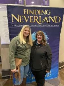 Allie attended Finding Neverland on Mar 7th 2020 via VetTix
