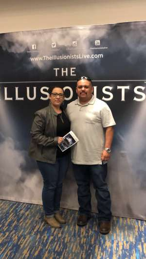 Roberto attended The Illusionists - Live From Broadway (touring) on Mar 6th 2020 via VetTix
