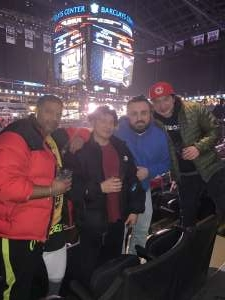 Abul attended Premier Boxing Champions: Adam Kownacki vs. Robert Helenius on Mar 7th 2020 via VetTix