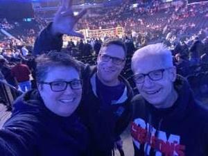 Ann attended Premier Boxing Champions: Adam Kownacki vs. Robert Helenius on Mar 7th 2020 via VetTix