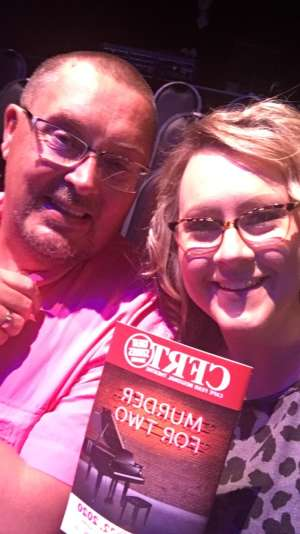 Jamie attended Murder for Two on Mar 11th 2020 via VetTix