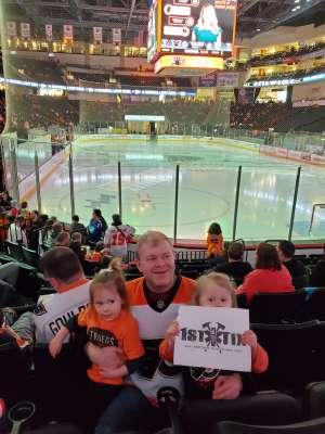 Tim attended Lehigh Valley Phantoms vs. Bridgeport Sound Tigers - AHL on Mar 8th 2020 via VetTix