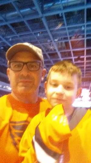 Fred attended Lehigh Valley Phantoms vs. Bridgeport Sound Tigers - AHL on Mar 8th 2020 via VetTix