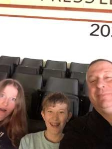 Fred attended Lehigh Valley Phantoms vs. Bridgeport Sound Tigers - AHL on Mar 8th 2020 via VetTix