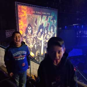 Alex attended KISS: End of the Road World Tour on Mar 2nd 2020 via VetTix