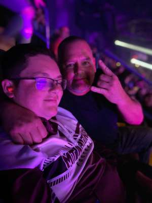 Dwight Brumley attended KISS: End of the Road World Tour on Mar 2nd 2020 via VetTix