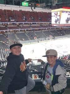 Dustin attended Anaheim Ducks vs. New Jersey Devils- NHL - Antis Community Corner on Mar 1st 2020 via VetTix