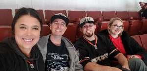 Ashley  attended Anaheim Ducks vs. New Jersey Devils- NHL - Antis Community Corner on Mar 1st 2020 via VetTix
