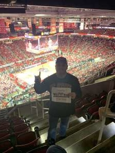 Kevin attended NC State vs. Wake Forest - NCAA Men's Basketball on Mar 6th 2020 via VetTix