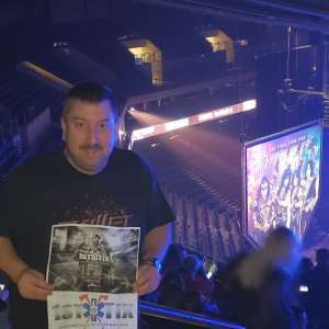 Trenton Paramedic attended Kiss: End of the Road World Tour on Mar 6th 2020 via VetTix