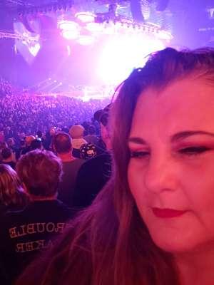 Belva attended Kiss: End of the Road World Tour on Mar 6th 2020 via VetTix
