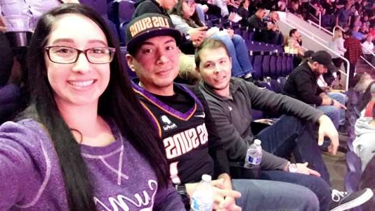 Chris  attended Phoenix Suns vs. Toronto Raptors - NBA on Mar 3rd 2020 via VetTix