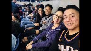 Alexa attended Phoenix Suns vs. Toronto Raptors - NBA on Mar 3rd 2020 via VetTix