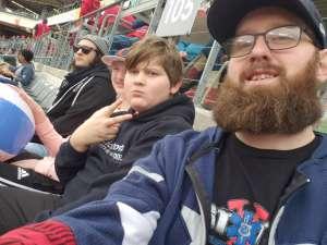 Kenan White attended Houston Roughnecks vs. Seattle Dragons - XFL on Mar 7th 2020 via VetTix