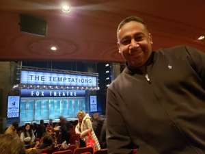 Marcus  attended Ain't Too Proud - the Life and Times of the Temptations on Mar 3rd 2020 via VetTix