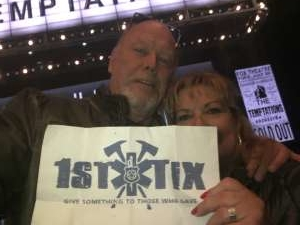 Bill Hannam  attended Ain't Too Proud - The Life and Times of The Temptations on Mar 4th 2020 via VetTix