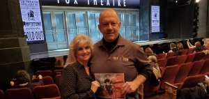 Stew attended Ain't Too Proud - The Life and Times of The Temptations on Mar 4th 2020 via VetTix