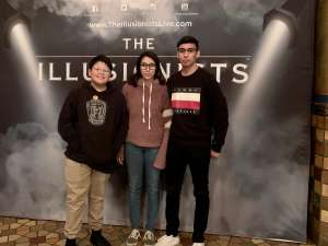 Al Carrillo attended The Illusionists - Live from Broadway (touring) on Mar 4th 2020 via VetTix