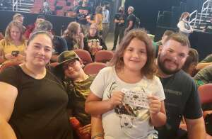 Sowers attended Tobymac Hits Deep Tour on Oct 9th 2021 via VetTix