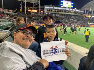 Frank D.  attended Los Angeles Wildcats vs. Tampa Bay Vipers - XFL on Mar 8th 2020 via VetTix