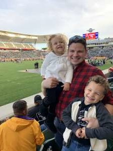 JohnK attended Los Angeles Wildcats vs. Tampa Bay Vipers - XFL on Mar 8th 2020 via VetTix