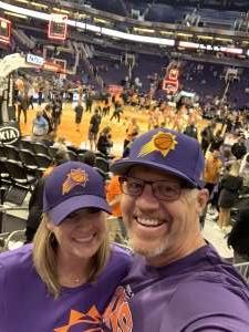 Doug attended Phoenix Suns vs. Portland Trail Blazers - NBA on Mar 6th 2020 via VetTix