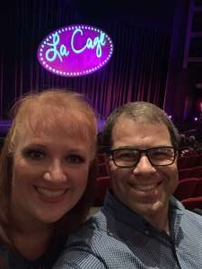 Jason attended La Cage at Herberger Theater on Mar 14th 2020 via VetTix