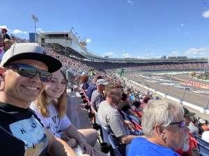 Chris K attended Fanshield 500 - NASCAR Cup Series on Mar 8th 2020 via VetTix
