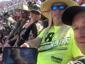 B attended Fanshield 500 - NASCAR Cup Series on Mar 8th 2020 via VetTix
