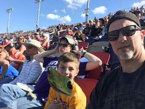 Jeff B attended Fanshield 500 - NASCAR Cup Series on Mar 8th 2020 via VetTix