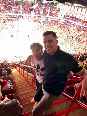 Yolo attended Miami Heat vs. Orlando Magic - NBA on Mar 4th 2020 via VetTix