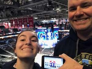 Mark attended Georgetown Hoyas vs. Villanova - NCAA Basketball on Mar 7th 2020 via VetTix