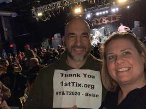 Rustyn attended Y & T, Like No One on Mar 10th 2020 via VetTix