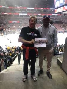 Randy attended Florida Panthers vs. Boston Bruins - NHL on Mar 5th 2020 via VetTix