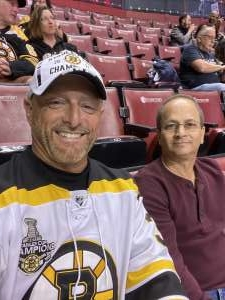 John M attended Florida Panthers vs. Boston Bruins - NHL on Mar 5th 2020 via VetTix