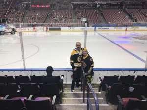 Patrick attended Florida Panthers vs. Boston Bruins - NHL on Mar 5th 2020 via VetTix
