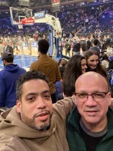 Josh attended New York Knicks vs. Oklahoma City Thunder - NBA on Mar 6th 2020 via VetTix