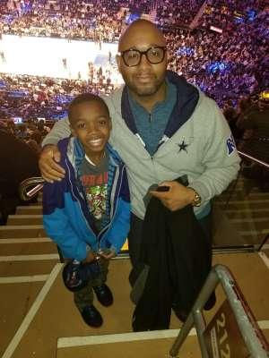 Anthony attended New York Knicks vs. Oklahoma City Thunder - NBA on Mar 6th 2020 via VetTix
